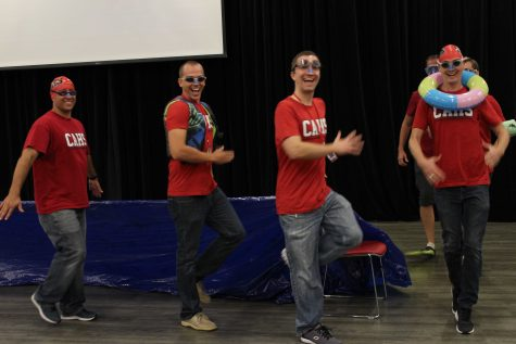 CAHS begins the school year with the First Day of School Assembly