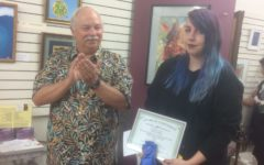 Senior Olivia Jolley Recognized for Her Artwork