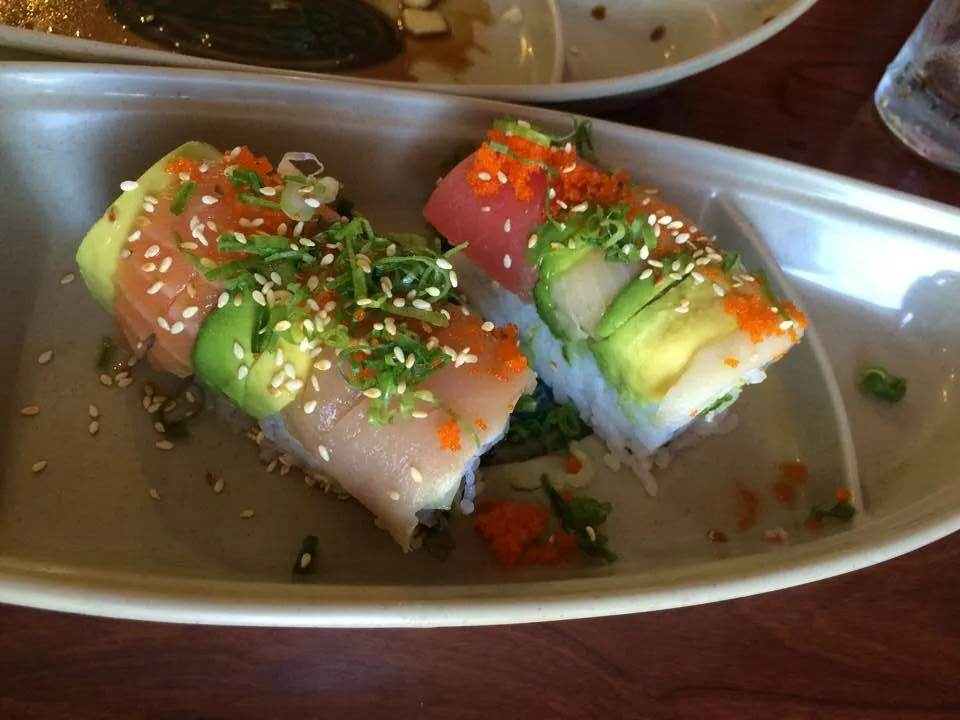 The Rainbow Roll. Photo courtesy of Lily Garcia