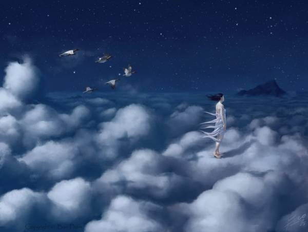 Some researchers believe that dreaming helps us to de-clutter the meaningless information in our brains. (Photo source: learning-mind.com)