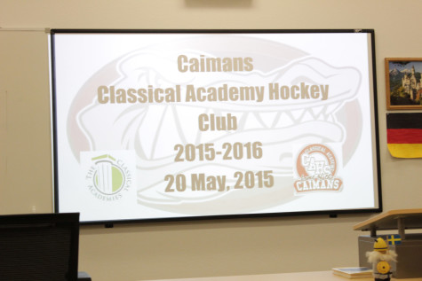Caimans and ducks on ice! CAHS partners with Anaheim Ducks to start an ice hockey club