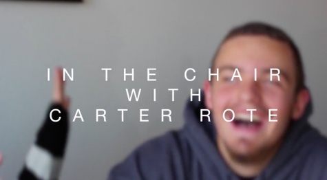 In the chair with Carter Rote