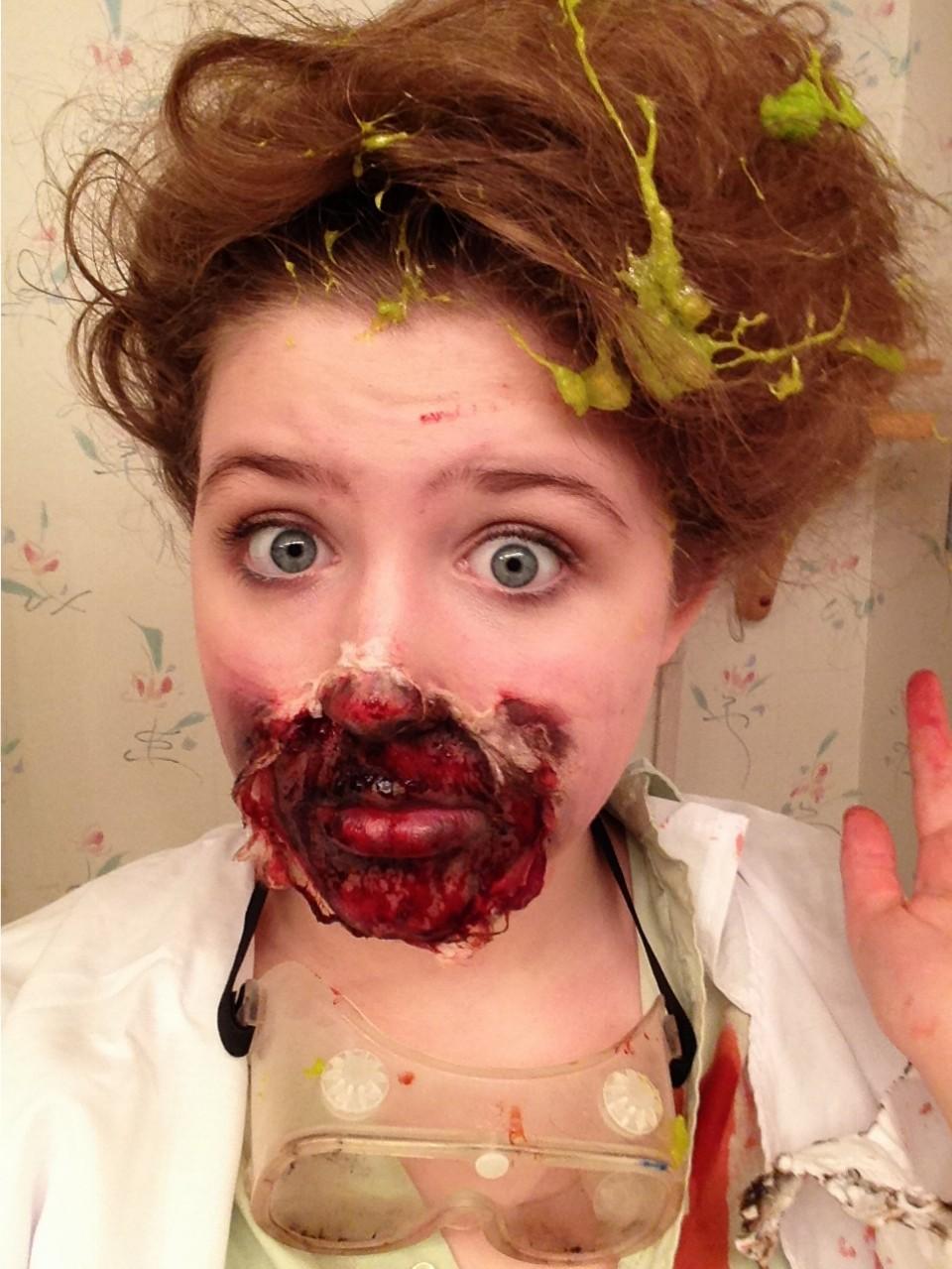 Halloween Face Effects