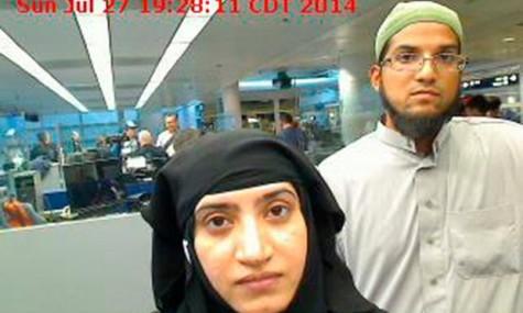 Apple has refused to unlock the phone of Syed Farook, the San Bernardino gunman on right.