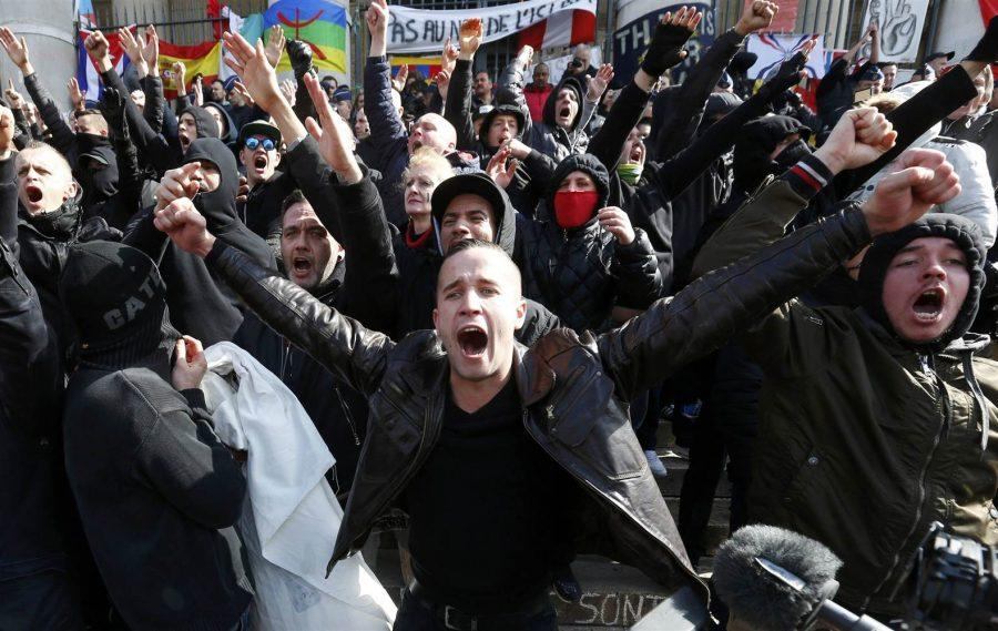 An image of protest. Courtesy of cnn.com