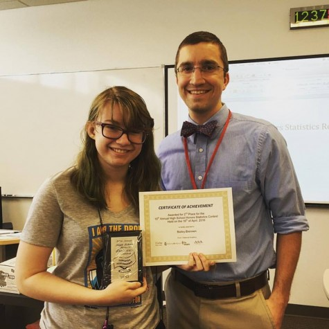 Senior Bailey Brennen places second at UCSD Honors Stats competition