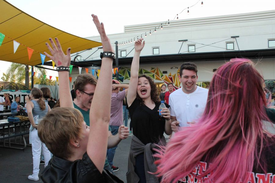 Students Gather at the Back to School Barbecue to Greet the New School Year