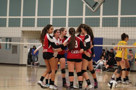 Ready, Set, Spike: Varsity Girls Volleyball CIF 2016