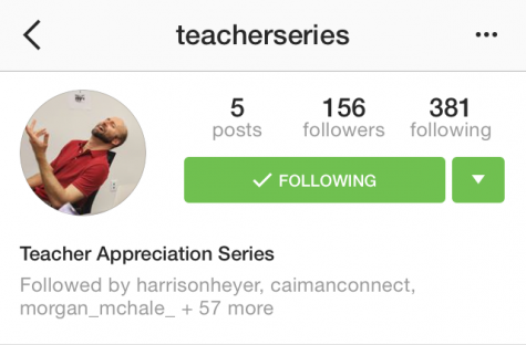 Giving Back: The CAHS Teacher Appreciation Instagram