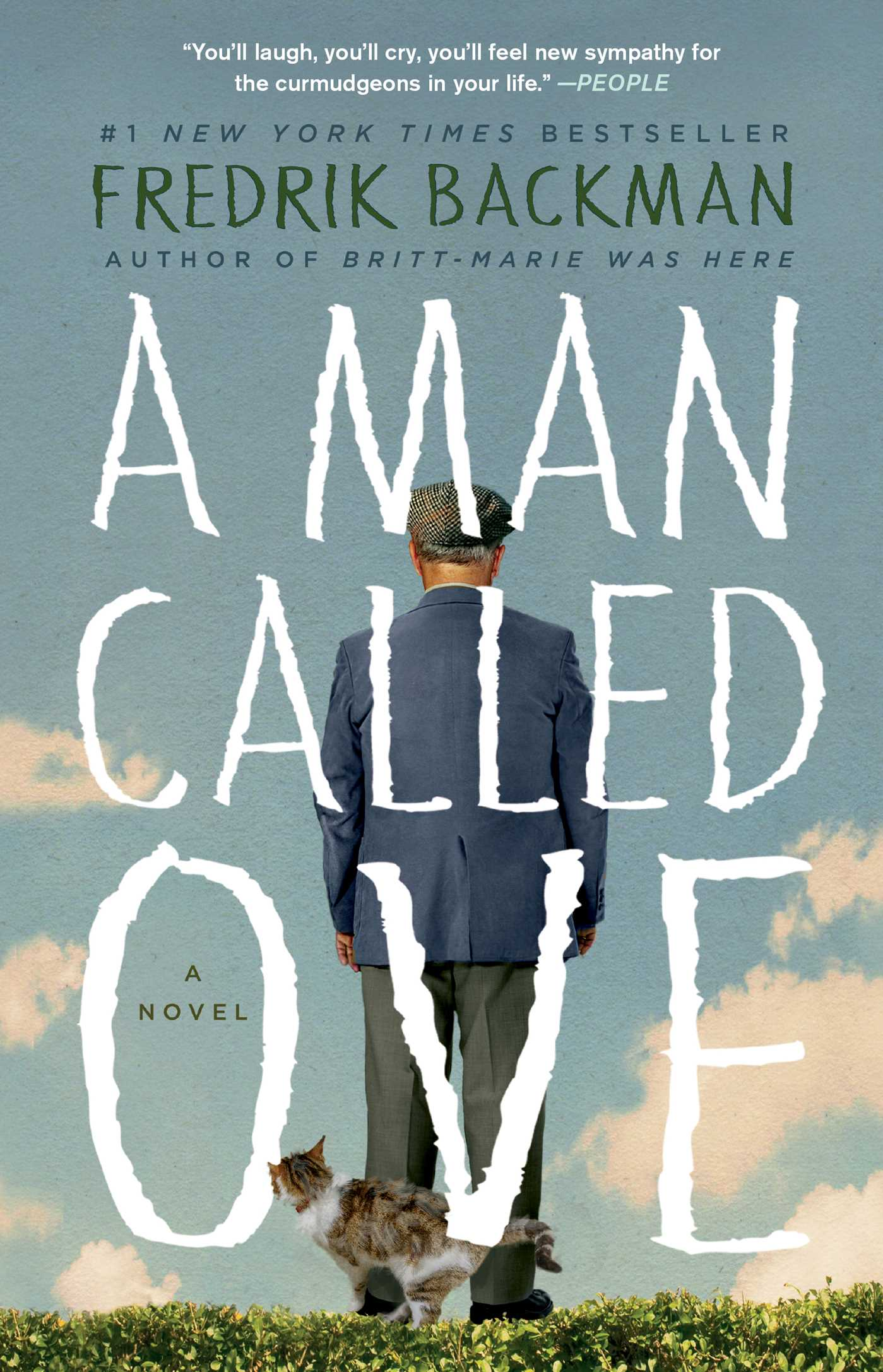 The cover of A Man Called Ove. Courtesy of Simon and Schuster