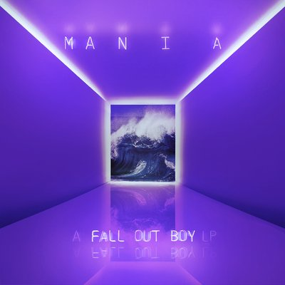 Cover art for Fall Out Boy's new album,