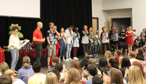 Homecoming Pep Rally Stirs Up Excitement for Homecoming Dance