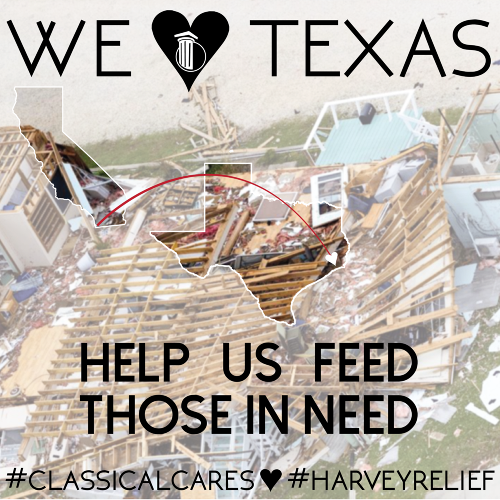 Harvey Relief: Classical Starts Fundraiser to Aid National Hurricane Relief Efforts