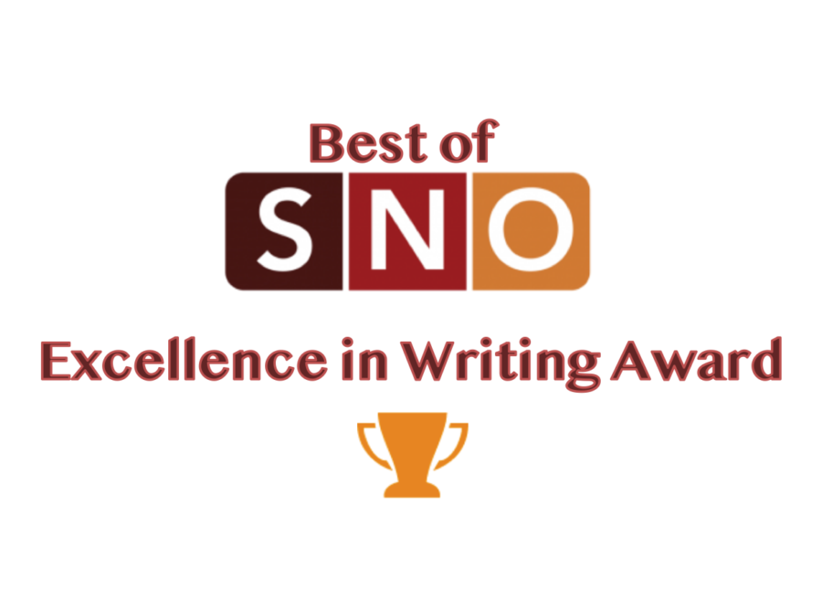 The Crimson wins Best of SNO Excellence in Writing Award