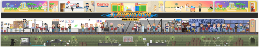 Room 113: An 8-Bit Tribute to Journalism
