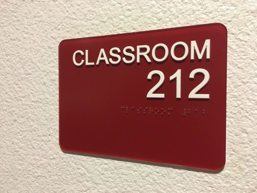The Journalism Staff has relocated to Room 212. Photo credit Crystal Sung.