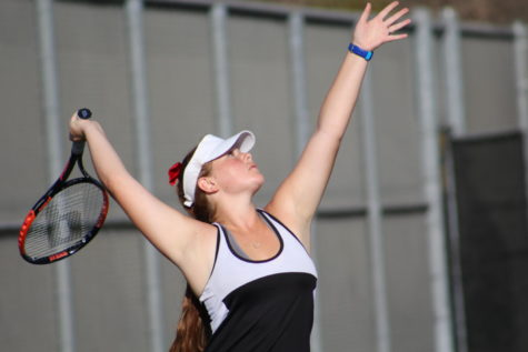 Win Together, Lose Together: CAHS Girls' Tennis Battles San Diego Jewish Academy