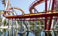The Silver Bullet ride at Knott's Berry Farm. Image courtesy of Knott's Berry Farm via Twitter.