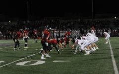 Varsity football battles against Santa Fe Christian While Balancing Sports and Academics