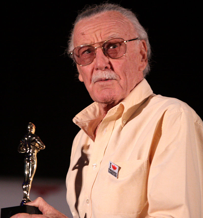 Stan Lee. Photo courtesy of Wikimedia Commons.