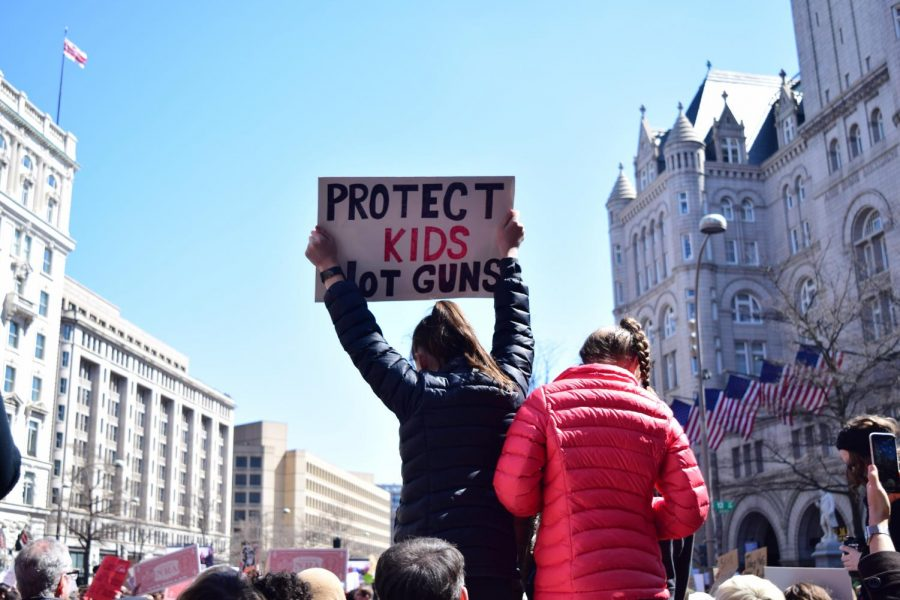 Change Makers Advocates for Gun Safety in Schools
