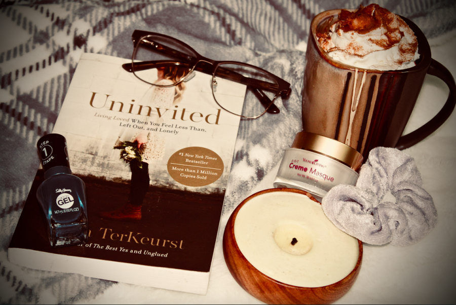 Grab a book, make some coco, and snuggle under a blanket! Time to relax!