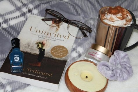 Grab a book, make some cocoa, and snuggle under a blanket! Time to relax! Photo by Elly Hamilton.